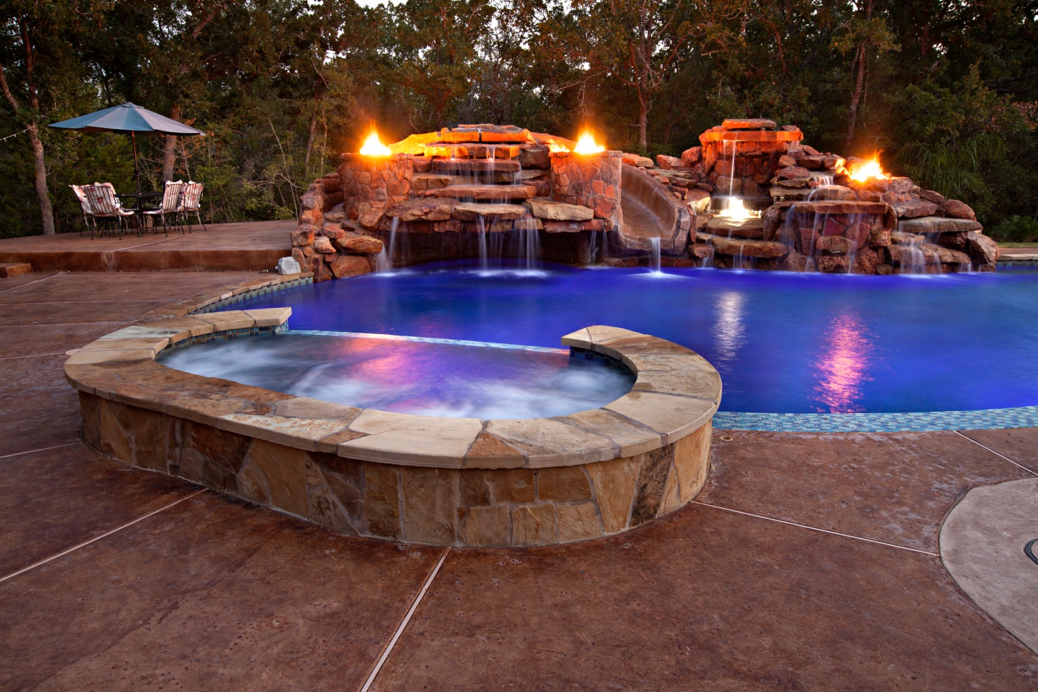 Bryan college station pools by price photo gallery brazos - Pool fire bowls ...