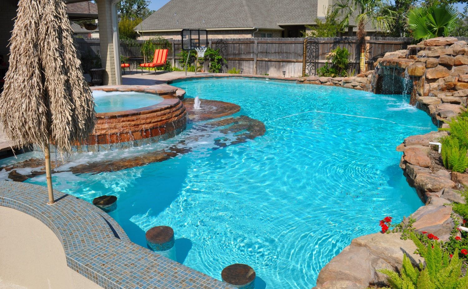 Pictures Of Sundecks Stairs And Benches: Bryan College Station Pools By Price Photo Gallery Brazos
