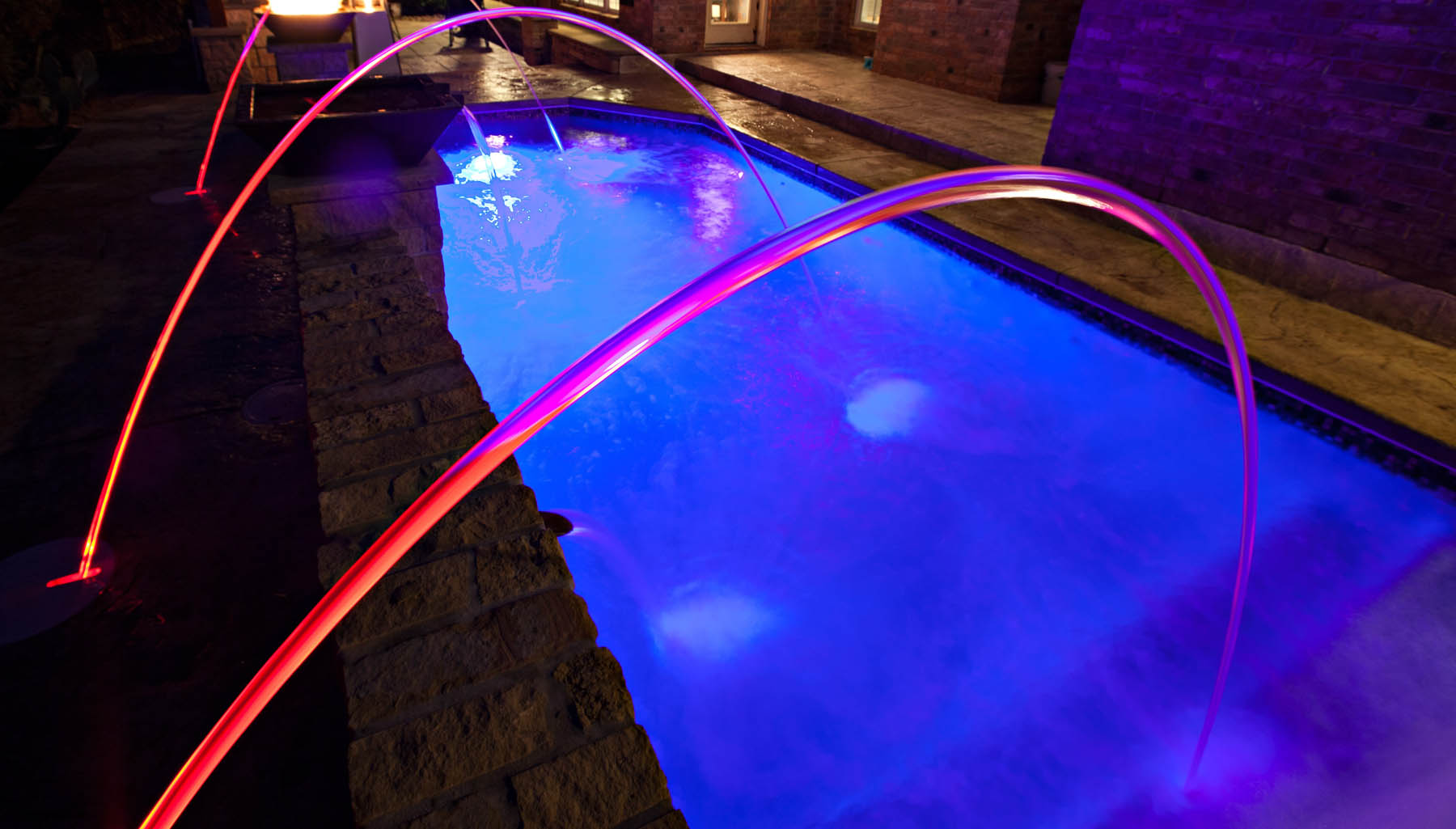 College Station Pool Water Features Photo Gallery Brazos