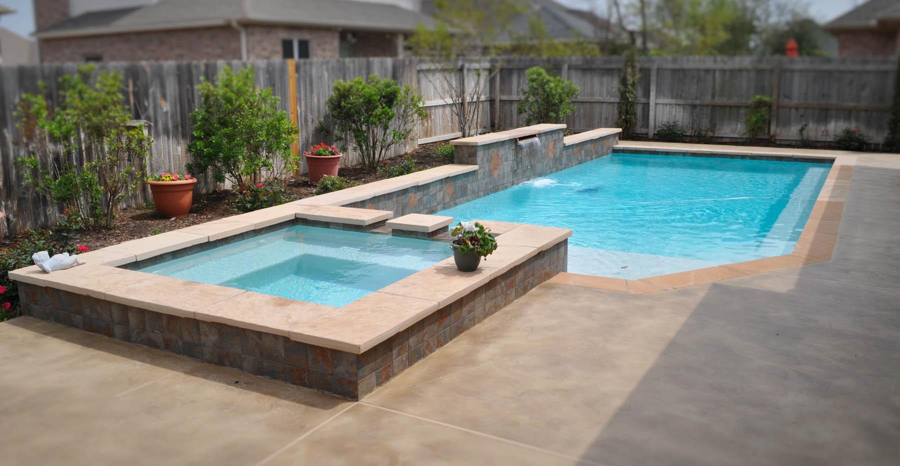 College Station Pool Design Bryan Pool Builder Brazos